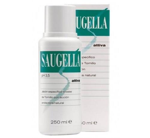 Saugella attiva (1 envase 250 ml)