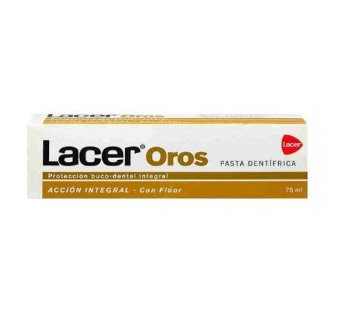 Lacer oros accion integral pasta dentifrica (75 ml)