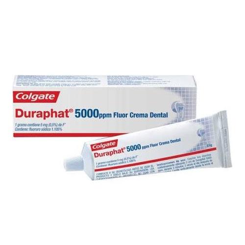 Duraphat 5000 ppm fluor crema dental (1 envase 51 g)