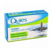 Tapones oidos proteccion c filtro ceramico - quies antipresion earplanes viajes (adulto 2 u)