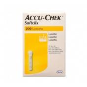 Accu-chek softclix lancetas (200 lancetas)