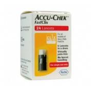 Accu-chek fastclix lancetas (24 lancetas)