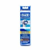 Cepillo dental electrico recargable - oral-b precision clean eb20rb (recambio 6 unidades)
