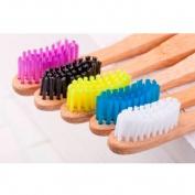 Cepillo dental bambu rosa medium