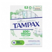 Tampax cotton protection (super 16 u)