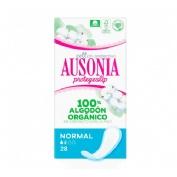 Ausonia protegeslip cotton protection (normal 28 u)