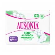 Compresas higienicas femeninas - ausonia cotton protection (super alas 10 u)