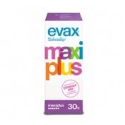 Protectores evax - protege slip (maxi plus 30 protege-slip)
