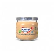 Nutriben potito inicio a la carne - ternera con menestra de verduras (1 envase 120 g)