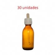Cuentagotas frasco - jm (30 ml topacio 30 unidades)
