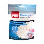 Phb aplicador hilo flosser plus ptfe (30 u)