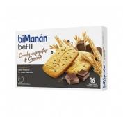Bimanan pro galletas cereales con chocolate (1 envase 200 g)