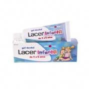 Lacer infantil gel dental (1 tubo 50 ml sabor fresa)