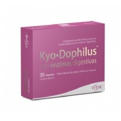 Kyodophilus con enzimas (30 capsulas) + REGALO OlioVita Balm de 10 ml