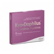 Kyodophilus con enzimas (15 capsulas) + REGALO OlioVita Balm de 10 ml