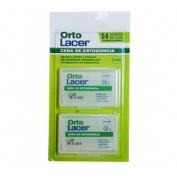 Cera ortodoncia protectora rozadura - ortolacer (14 barritas)