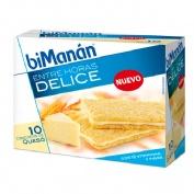 Bimanan bekomplett snack crackers queso (10 unidades 200 g)