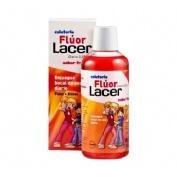 Lacer colutorio fluor diario 0,05 % (1 envase 500 ml sabor fresa)