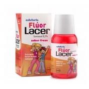 Lacer colutorio fluor semanal 0,2 % (1 envase 100 ml sabor fresa)