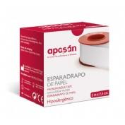 Esparadrapo hipoalergico - aposan (papel 5 x 2''5)