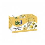 Bio3 manzanilla con anis (1.4 g 25 filtros)