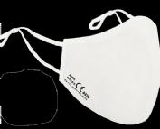 Mascarilla nanotech fp2 lavable blanca