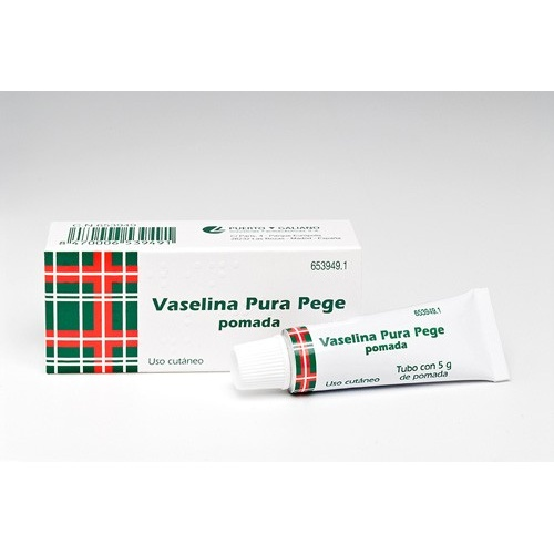 VASELINA PURA PEGE POMADA , 1 tubo de 5 g