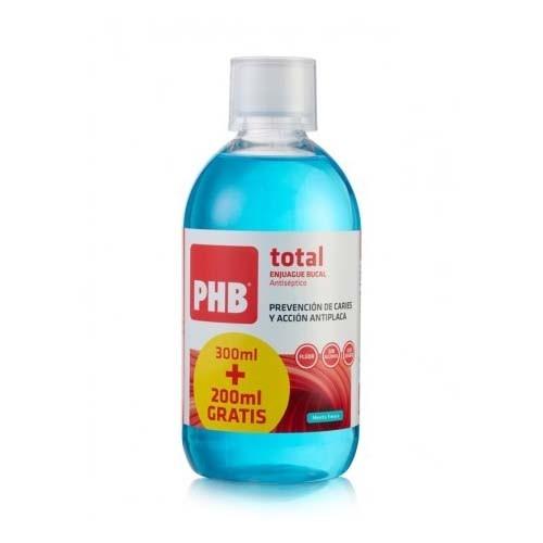 Phb total enjuague bucal (1 envase 300 ml + 1 envase 200 ml)