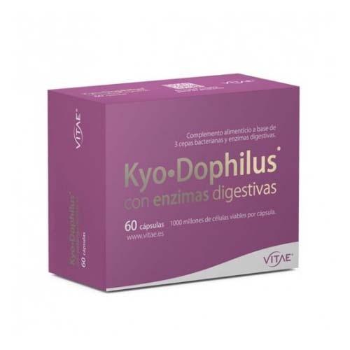 Kyodophilus con enzimas (60 capsulas) + REGALO OlioVita Balm de 10 ml