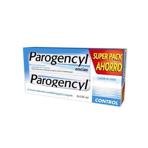 Parogencyl control pasta dental (2 envases 125 ml duplo + 1 cepillo)