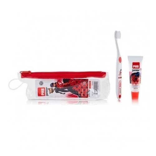 Kit dental neceser phb junior plus (pasta y cepillo)