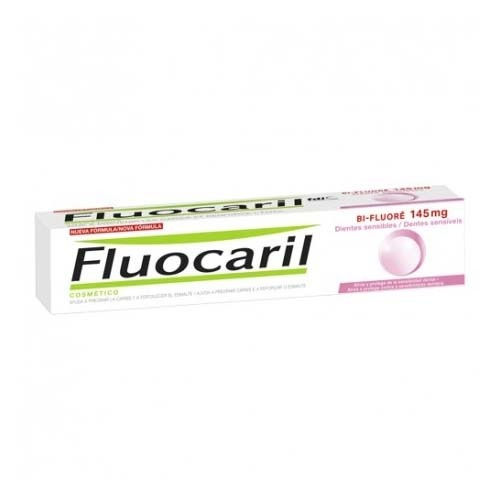 Fluocaril bi-fluore 145 mg dientes sensibles (1 envase 75 ml)