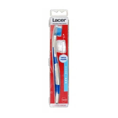 Cepillo dental adulto - lacer cabezal pequeño (medium)
