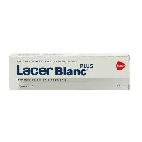Lacerblanc plus blanqueadora uso diario - pasta dental (1 envase 75 ml sabor d- citrus)