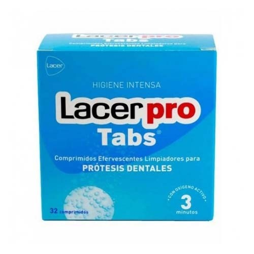 Lacerpro - limpieza protesis dental (32 comprimidos efervescentes)