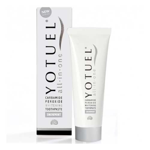 Yotuel all in one snowmint blanqueador - dentifrico (1 envase 75 ml)