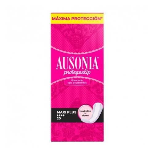 Protectores ausonia - protege slip (maxi plus 20 u)