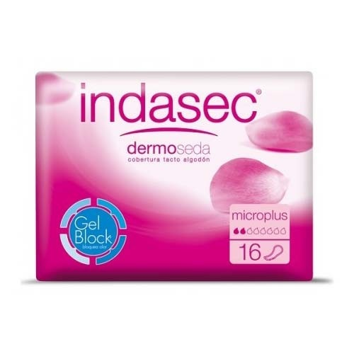 Indasec compresa perdidas leves (microplus 70 ml 16 u)