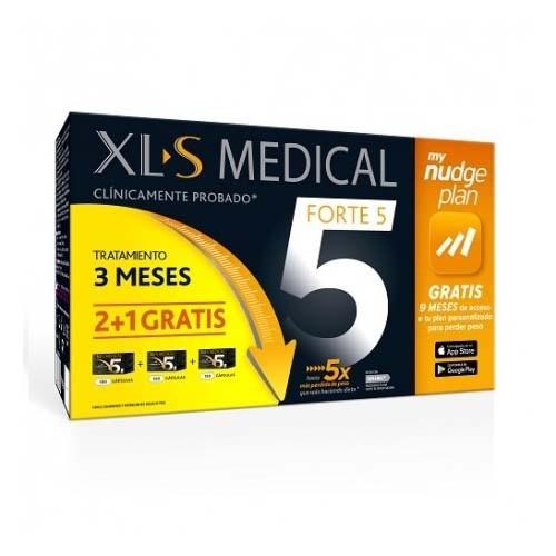 Xls medical forte 5 nudge (180 capsulas pack 3 meses)