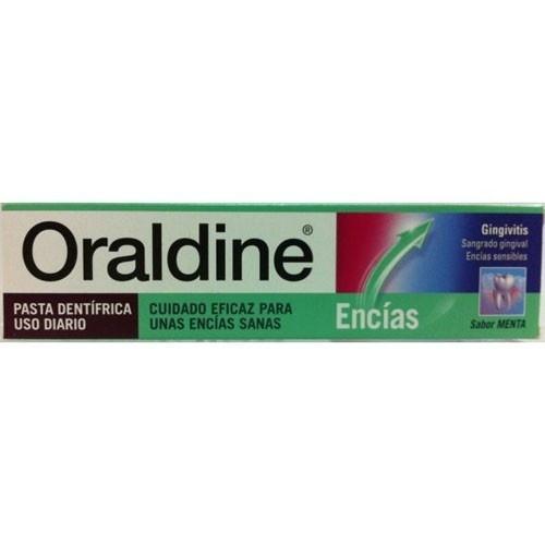 Oraldine encias pasta dental (1 tubo 125 ml sabor menta)
