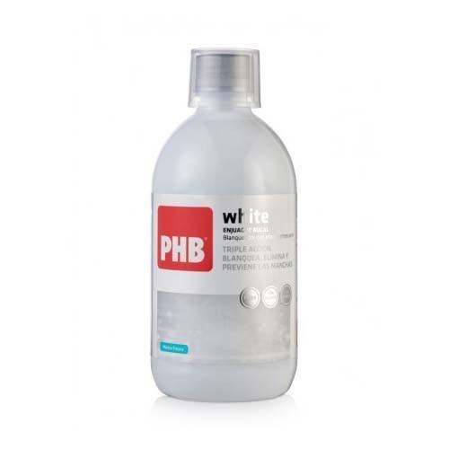 Phb white enjuague bucal (1 envase 500 ml)