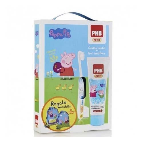 Pack phb petit gel dentifrico infantil + cepillo (con regalo peppa)