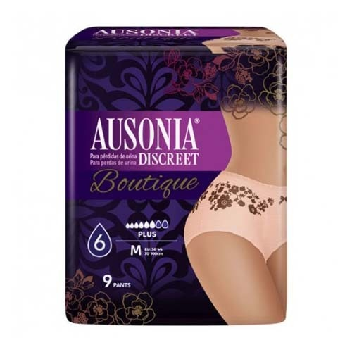 Absorb inc orina ligera - ausonia discreet boutique (pants talla m 9 u)