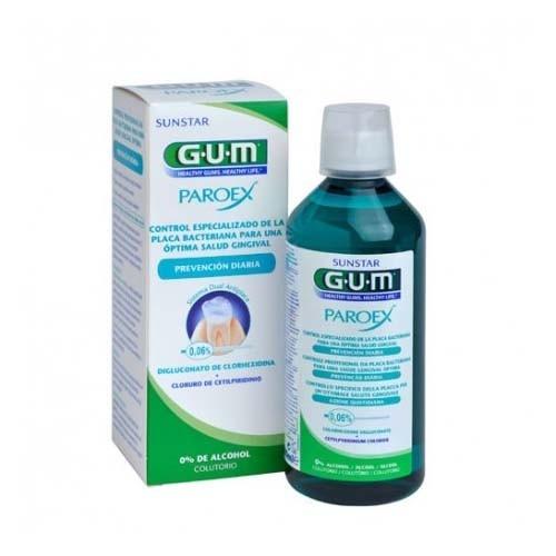 Gum paroex prevencion colutorio (1 envase 500 ml)