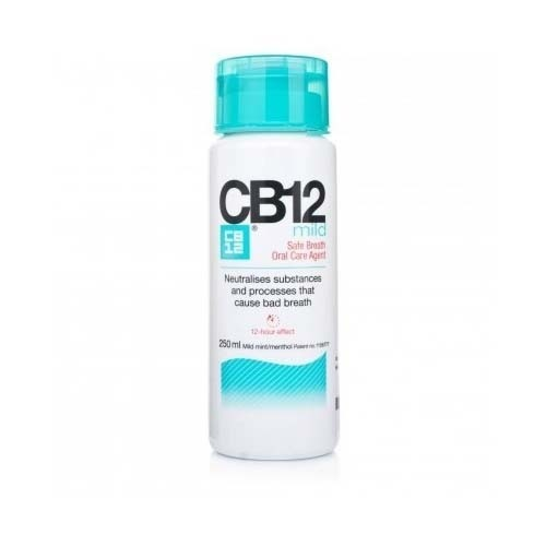 Cb12 mild enjuague cuidado bucal (1 envase 250 ml)