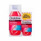 Oraldine antiseptico (1 envase 400 ml + 1 envase 200 ml pack)