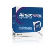 ALMAX FORTE 1,5 g SUSPENSION ORAL,12 sobres
