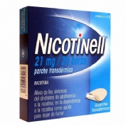 NICOTINELL 21 MG/24 HORAS PARCHE TRANSDERMICO , 14 parches