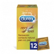 Durex real feel - preservativo sin latex (12 u)