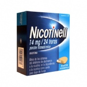 NICOTINELL 14 MG/24 HORAS PARCHE TRANSDERMICO , 28 parches